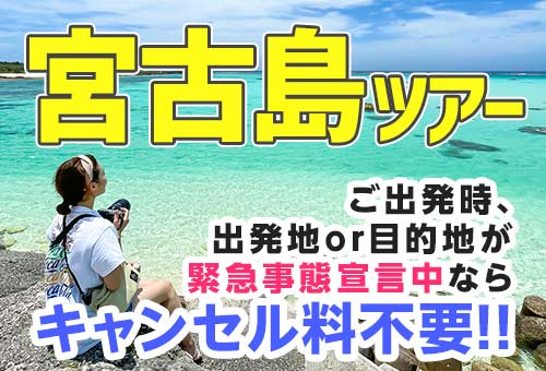 JALで行く!宮古島ツアー