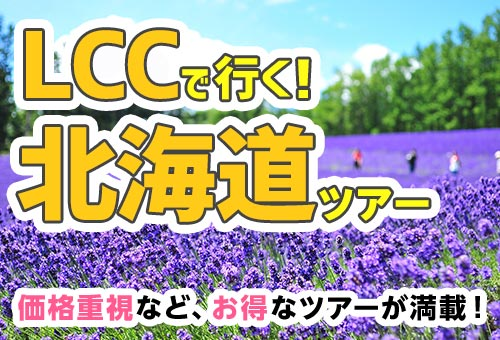 LCCで行く!北海道ツアー特集