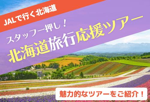JALで行く北海道!スタッフ一押し北海道旅行応援ツアー