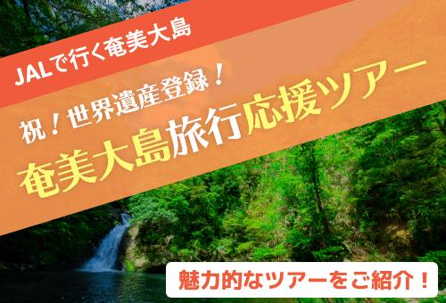 JALで行く奄美大島!祝!世界遺産!奄美大島旅行応援ツアー