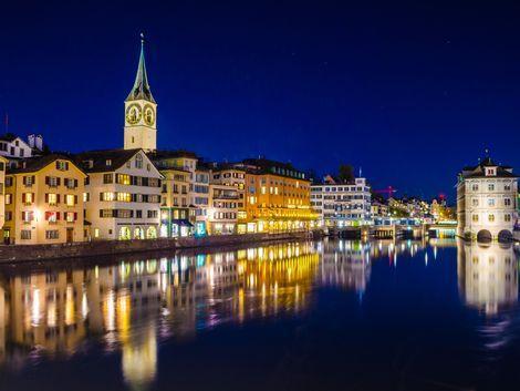 チューリッヒ:夜景