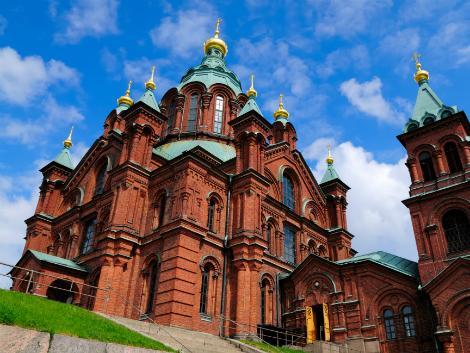 ヘルシンキ:ウスペンスキー大聖堂
