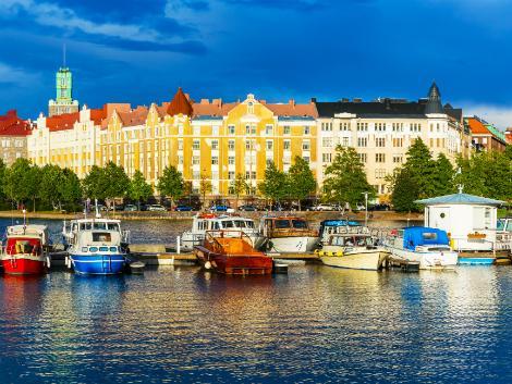 ヘルシンキ:美しい港