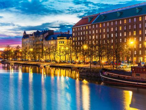 ヘルシンキ:夜景