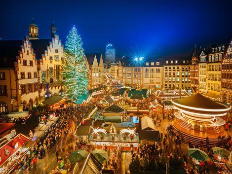 フランクフルト:クリスマスマーケット