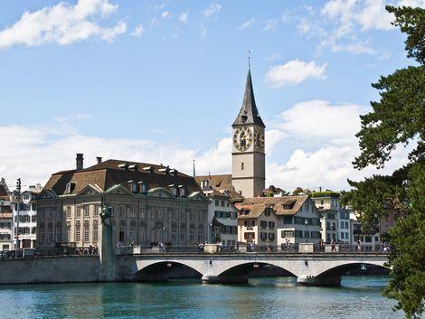 チューリッヒ:聖ペーター教会