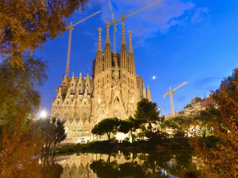 バルセロナ:サグラダファミリア
