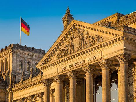 ベルリン:ドイツ連邦議会議事堂