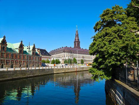 コペンハーゲン:クリスチャンスボー城