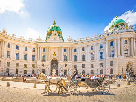ウィーン:ホーフブルク王宮