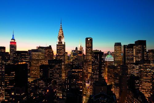 ニューヨークの夜景(イメージ)