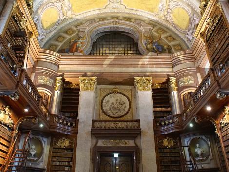 ウィーン:オーストリア国立図書館