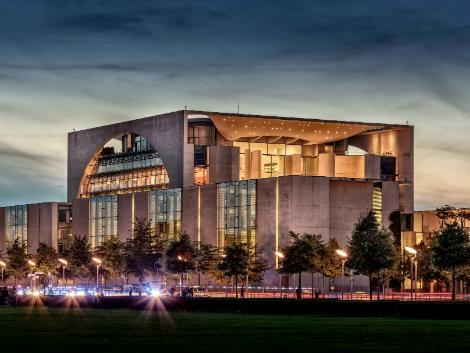 ベルリン:連邦首相府