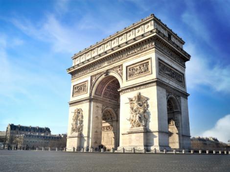 パリ:凱旋門