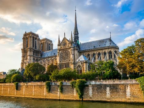 パリ:ノートルダム大聖堂