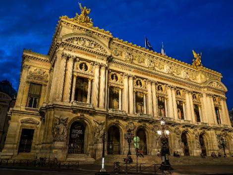 パリ:オペラ・ガルニエ
