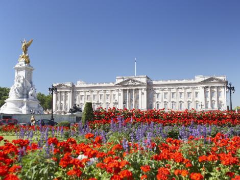 ロンドン:バッキンガム宮殿
