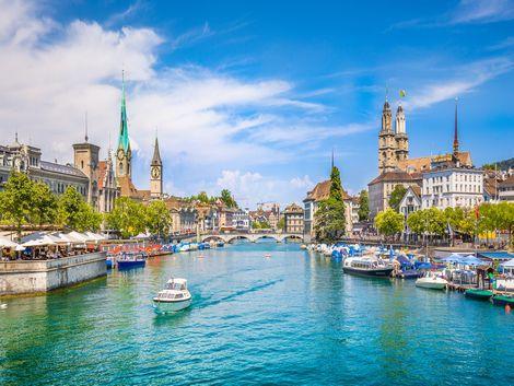 チューリッヒ:街並み