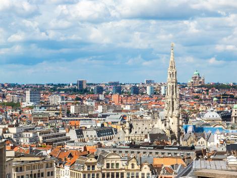 ブリュッセル:街並み