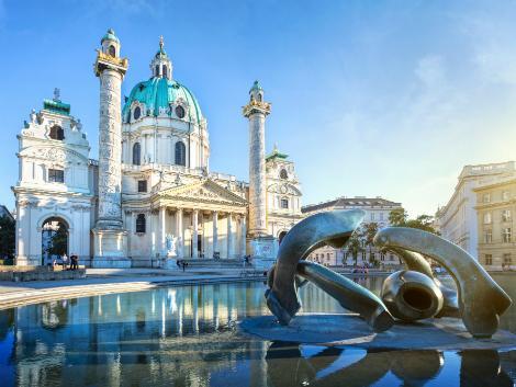 ウィーン:カールス教会