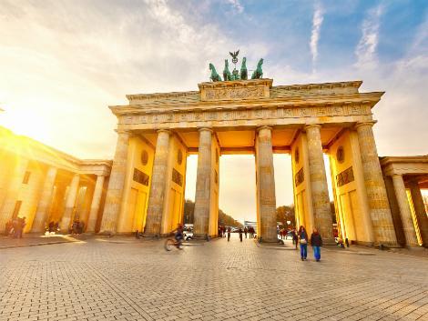 ベルリン:ブランデンブルク門
