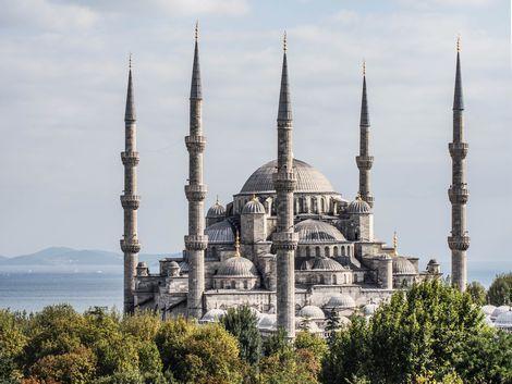 イスタンブール:ブルーモスク