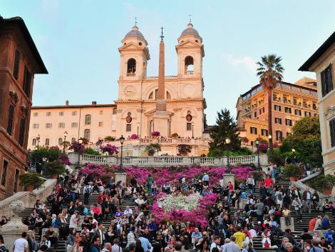 ローマ:スペイン階段