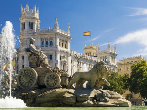 マドリード:シベーレス宮殿