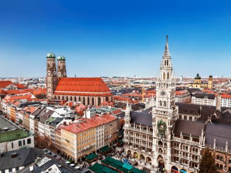 ミュンヘン:街並み