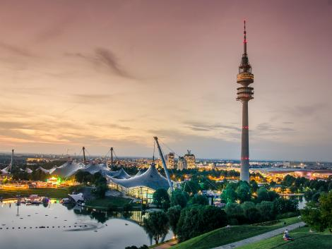 ミュンヘン:オリンピアパーク