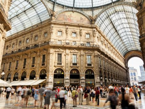 ミラノ:ガレリア