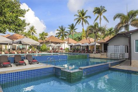 サムイ島:チャウエン コーブ リゾテル プール