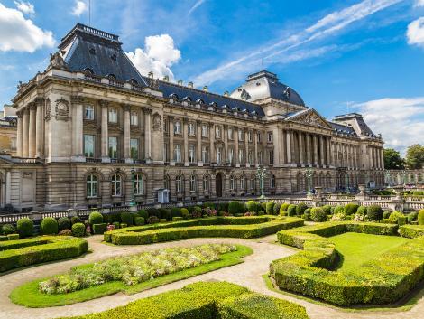 ブリュッセル:王宮