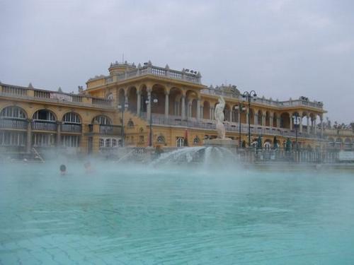 ◇ブダペスト:セーチェーニ温泉