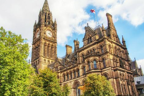 ◇◎マンチェスター:市庁舎