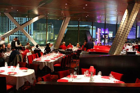 Effiel Tower Restaurant でのディナー(イメージ)
