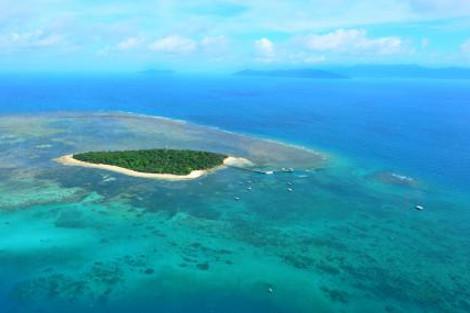 グレートバリアリーフにあるグリーン島