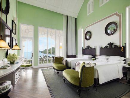 フーコック島:JW マリオット フーコック エメラルド ベイ リゾート & スパ 客室一例