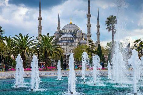 ◇◎イスタンブール:ブルーモスクと公園