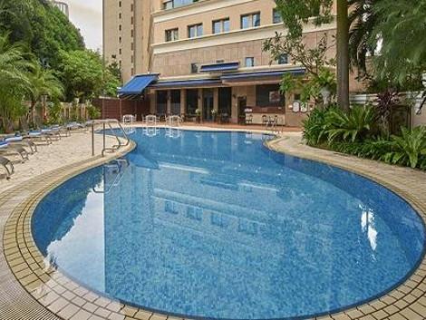 シンガポール:ジ エリザベス - ア ファー イースト ホテル プール