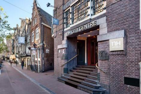 アムステルダム:NH シティ センター エントランス
