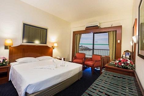 ペナン島:レインボー パラダイス ビーチ リゾート 客室一例