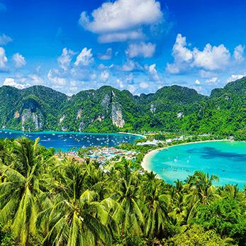 ピピ島の海外旅行・海外ツアー