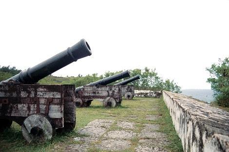 グアム-大砲