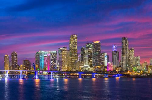 マイアミの夜景