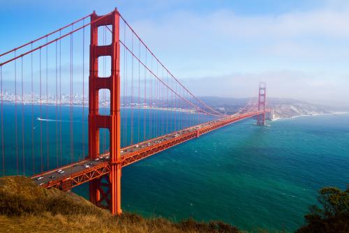 サンフランシスコのランドマーク、ゴールデン・ゲート・ブリッジ