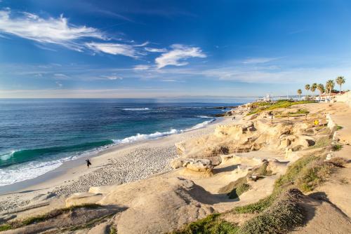 サンディエゴ:綺麗な海