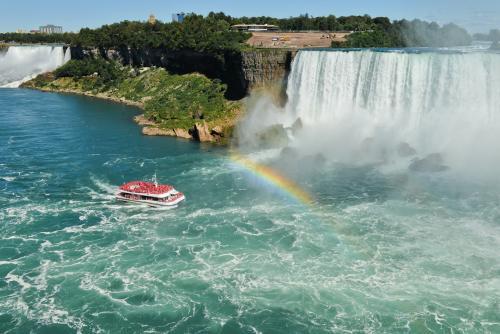 壮大なナイアガラの滝
