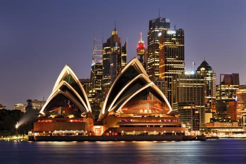 シドニーのシンボル・オペラハウス