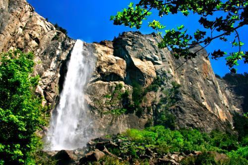 ヨセミテ国立公園 ブライダルベール滝